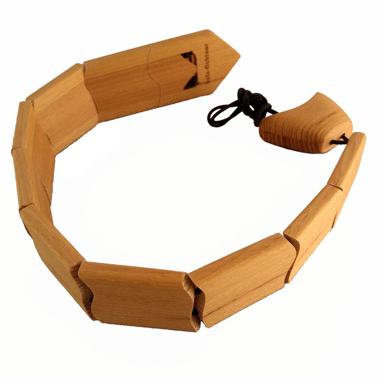Cravatta in legno di robinia 43cm