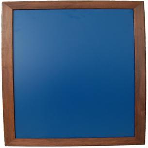 Kreidetafel 50x50cm mit Holzrahmen