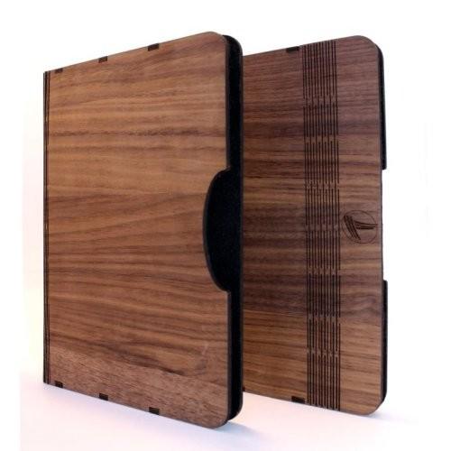 Holzcover IPad Nussbaumholz