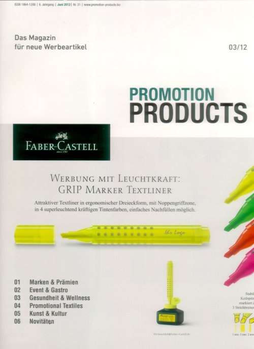 Promotion Products 2012