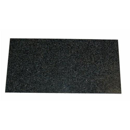 Thekenplatte, Granit dunkel, 52,5x26,5cm