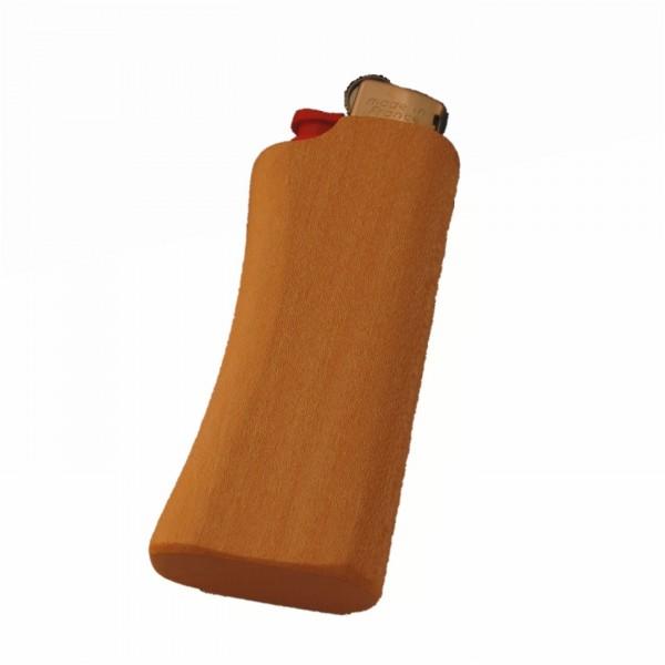 Un étui à briquet en bois d'érable pour le Mini-BIC