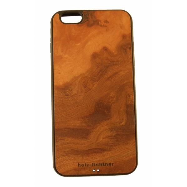 IPhonecover aus Rüstermaserholz für IPhone 6plus