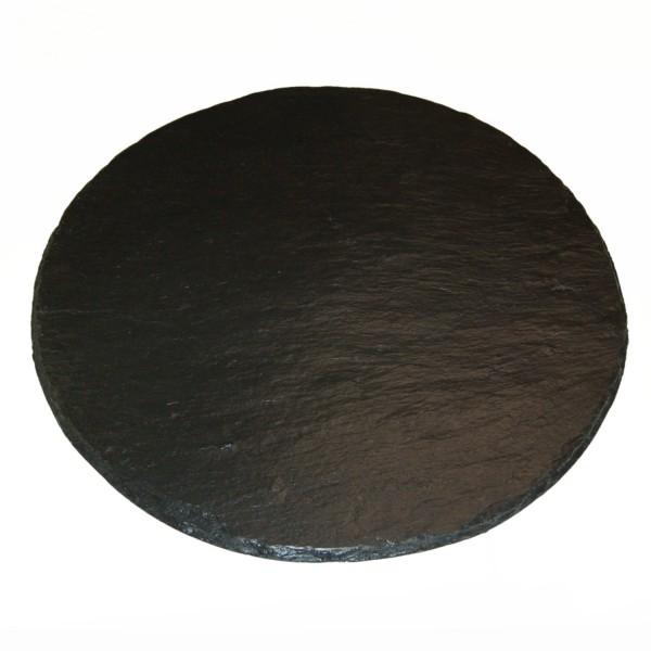 Schiefertablett 50cm rund