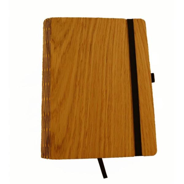 Holz-Notizbuch A5 Eiche