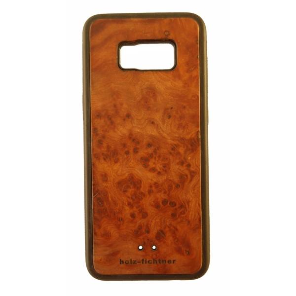 Holzcover Samsung Galaxy S8+ Rüster