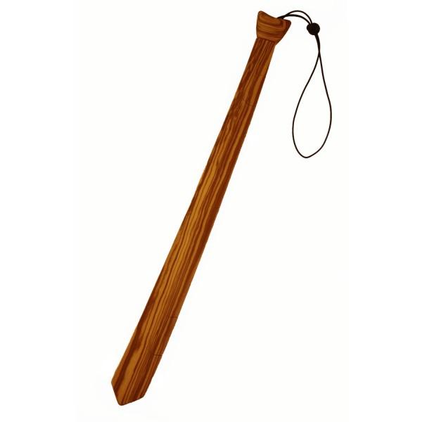 Cravate en bois d'olivier avec élastique